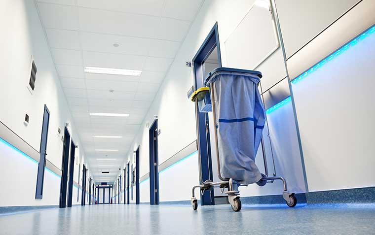 Böden für Gesundheitswesen