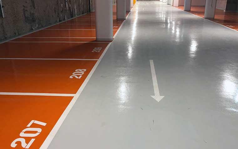 Böden für Verkehrsflächen
